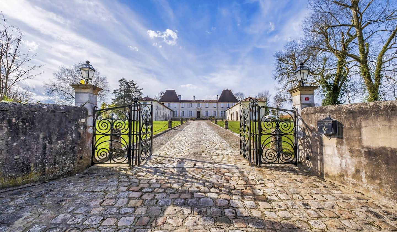 Château classé monument historique Dax