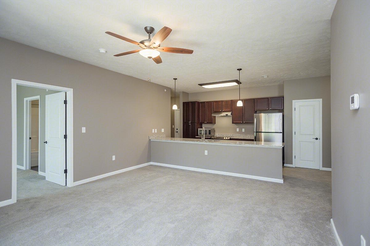 Oak With Attached Garage Floorplan 2 Bed 2 Bath The