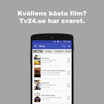 Tv24.se - Svensk TV-tablå