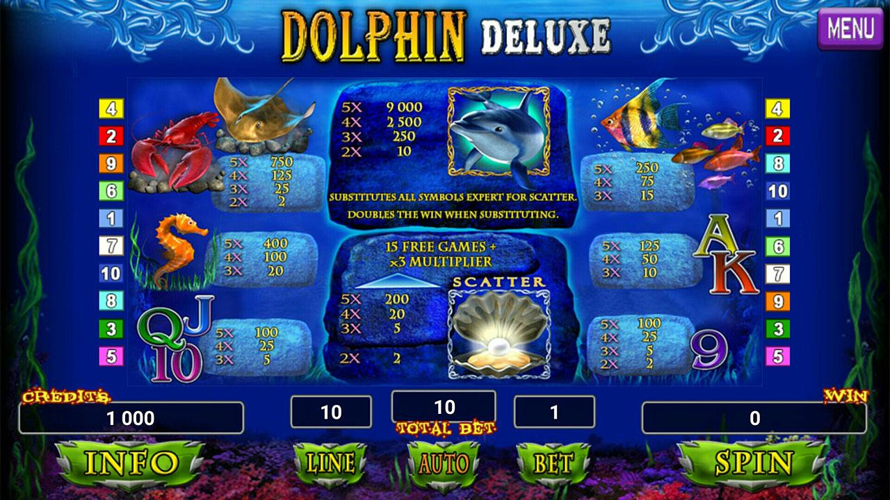 Dolphins slots