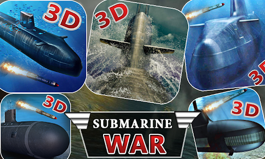 Submarine Navy War 3D- screenshot thumbnail