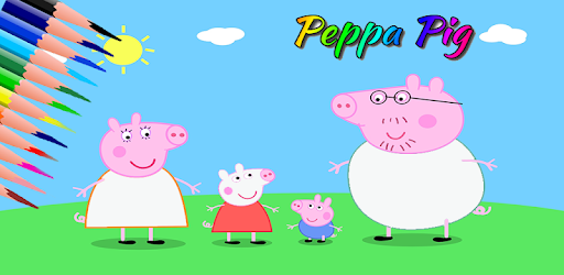 Learn Coloring is more fun in Pig Coloring and Painting Book