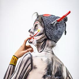 Scary body by Darko Kovac - People Body Art/Tattoos