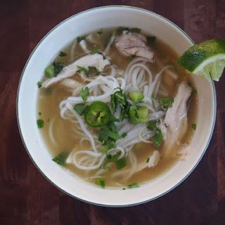 Pho Ga (Vietnamese Chicken Noodle Soup).