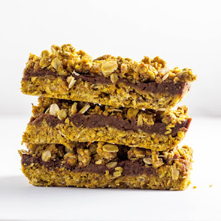 Spiced Pumpkin Butter Oat Bars