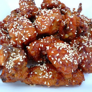 Honey Sesame Chicken.