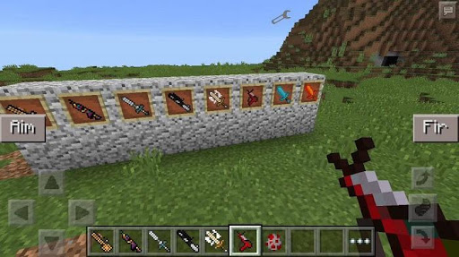 Weapons Mod Minecraft Guns 1.4 screenshots 1