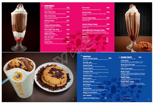 The Chocolate Room menu 2