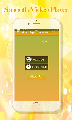 Video player : smooth & Background Player 1.2 screenshots 6
