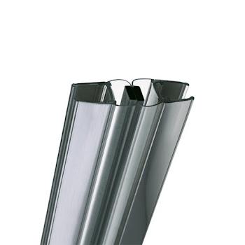Lot de 2 joints magnétiques à 90° pour porte de douche