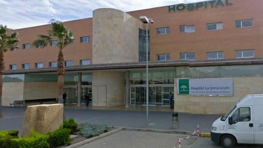 Hospital La Inmaculada, en Huércal-Overa.