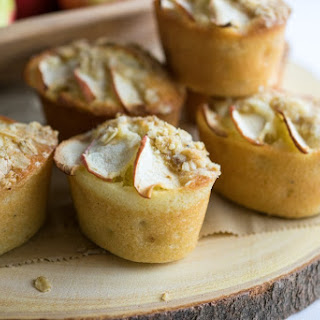 Cardamom Apple Crumble Friands