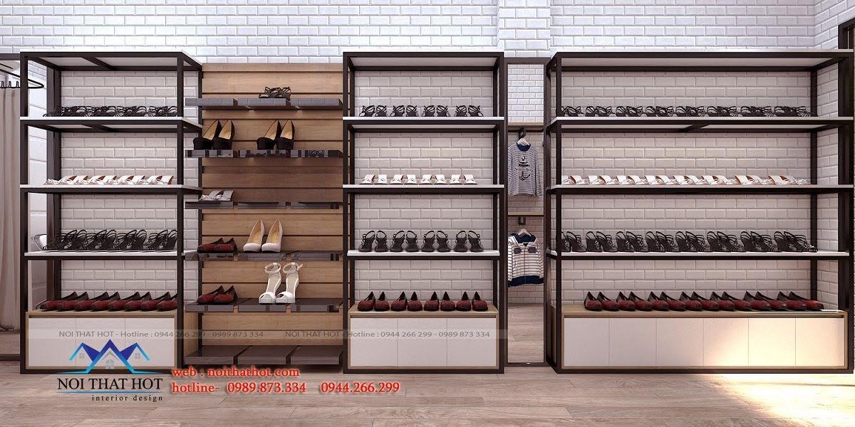 thiết kế shop giày dép 5