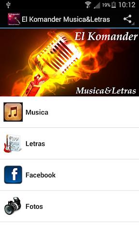 El Komander Musica Letras