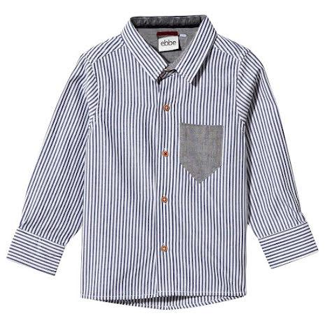 Ebbe Kids Hasse Shirt blue/white