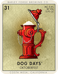 Logo of Barley Forge Dog Days Oktoberfest