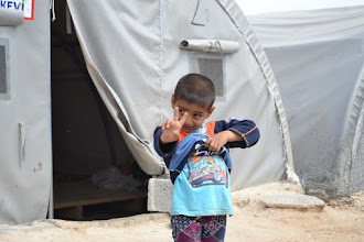 Photo: A visit in a camp for Kurdish Internally Displaced People's in Suruç