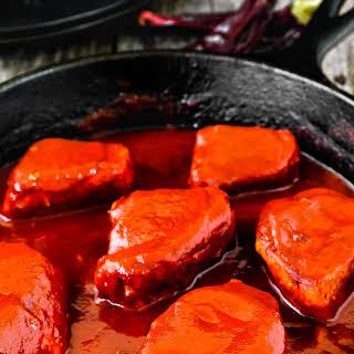 Mexican Pork Tenderloin Adobo.