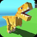 Blocky Dino Park: T-Rex Rampage icon