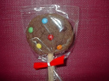 Chocolate Cookies On A Stick Recipe
