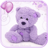 Violet Teddy Bear Theme