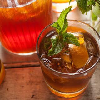Tea and Whiskey Highball.