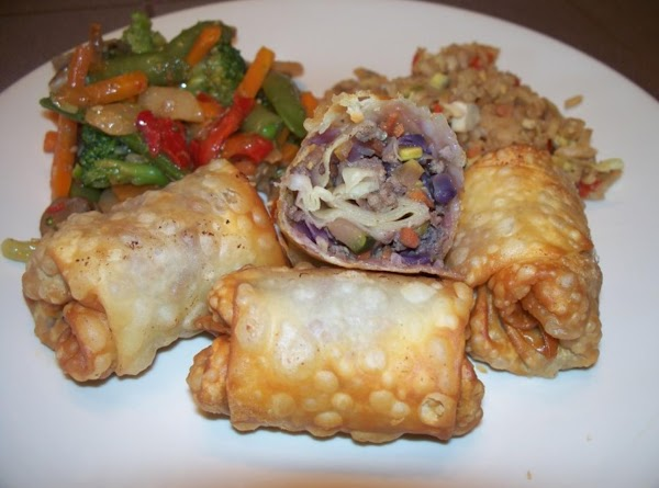 Americanized Egg Rolls Recipe