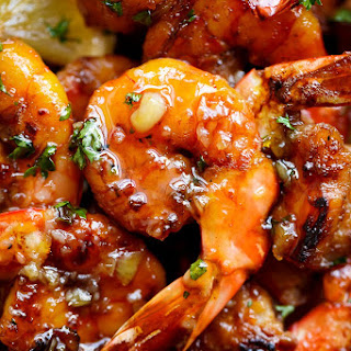 Browned Butter Honey Garlic Shrimp Recipe