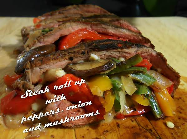Grilled Skirt Steak Rolls Recipe