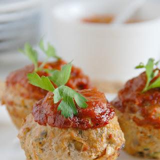 Low Fat Paleo Meatloaf Muffins.