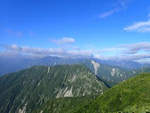 七倉岳方面