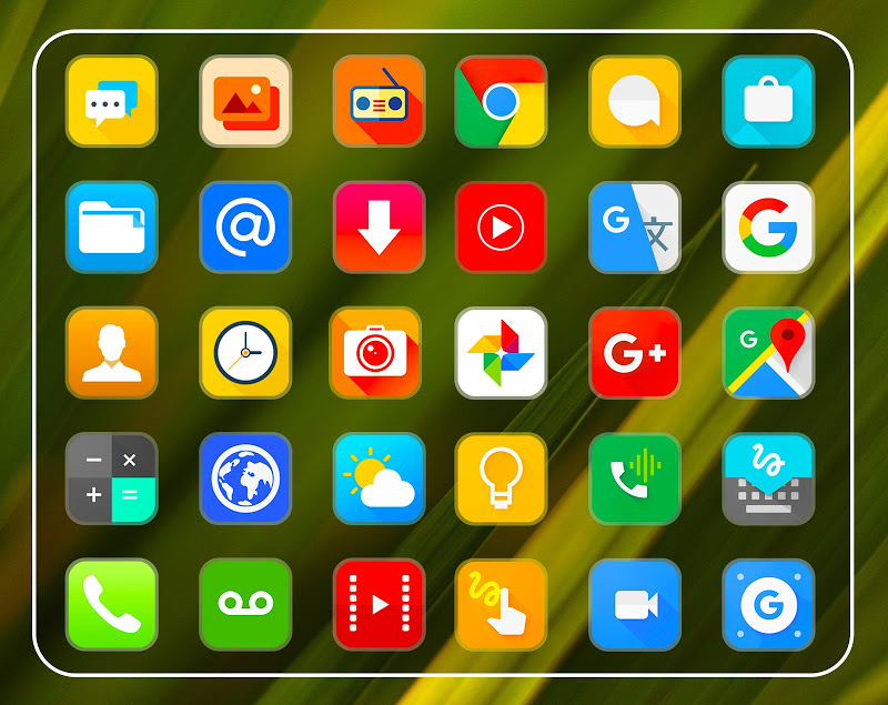 Clarity Icon Pack UX Theme Screenshot 5