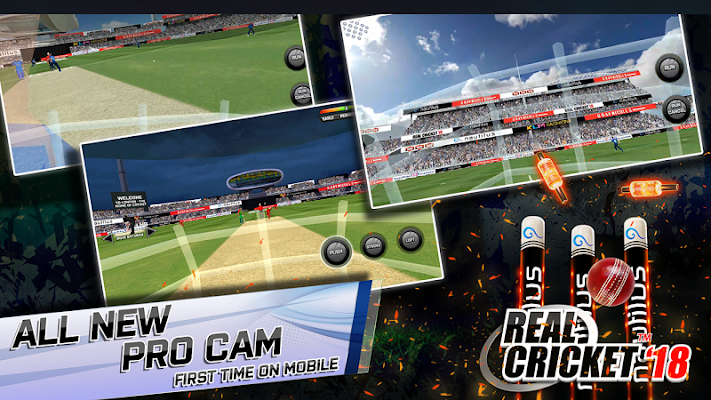 Real Cricket™ 18 Screenshot Image