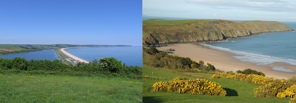 Devon has an abundance of beautiful beaches that are perfect for holiday destinations.
