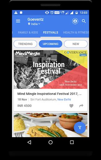 Local Events Finder - Goeventz Screenshot