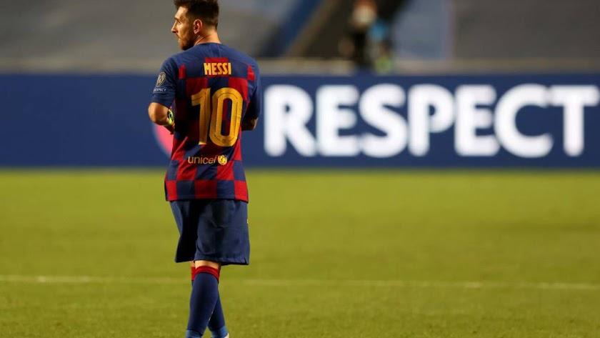 Leo Messi sigue dando pasos firmes para abandonar el Barça.