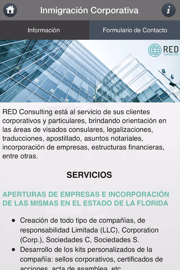 Red Consulting- screenshot
