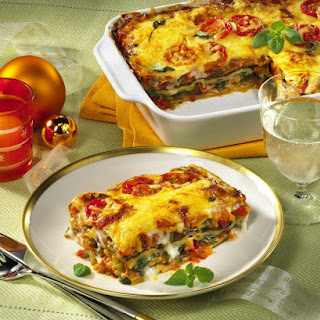 Vegetable Lasagna.