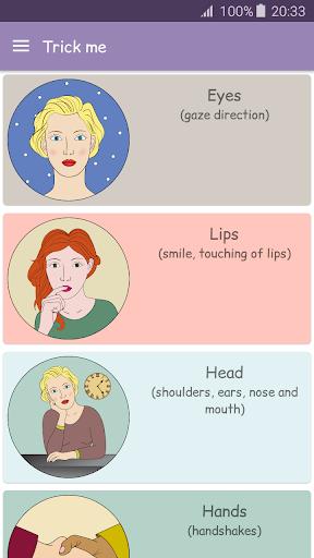 Body language - Trick me. Analyzing of Gestures 9.0 screenshots 1