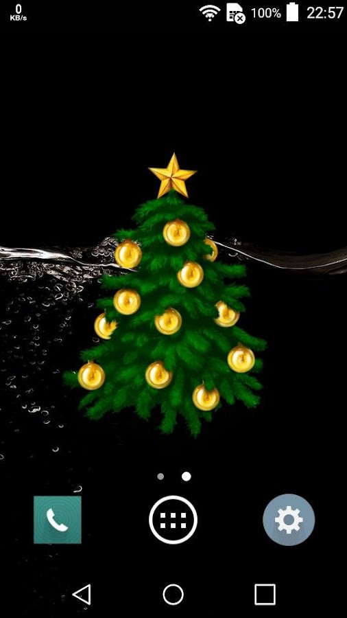 Christmas Tree Widget- screenshot