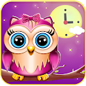 Cute Owl Alarm Clock App icon