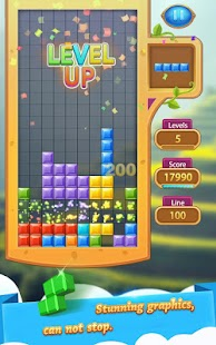 Brick Tetris Classic - Block Puzzle Game - náhled
