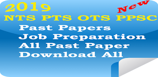 Past Papers NTS PTS - PPSC OTS - Apps on Google Play