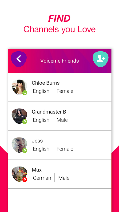 YouVoice - 1on1 Voice Chat- screenshot