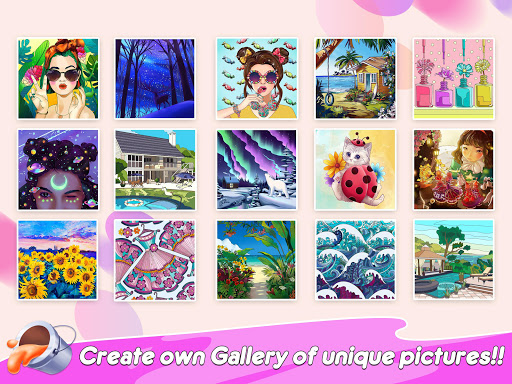 Home Paint: Color by Number & My Dream Home Design android2mod screenshots 11