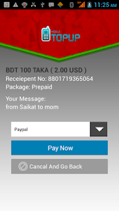 Mobile Topup to Bangladesh screenshot 4