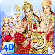 App 4D Maa Durga Live Wallpaper APK for Windows Phone