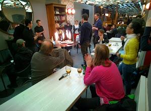 Photo: Celebrating 5 Years of Austria Game Jam #agj2014 #throughglass