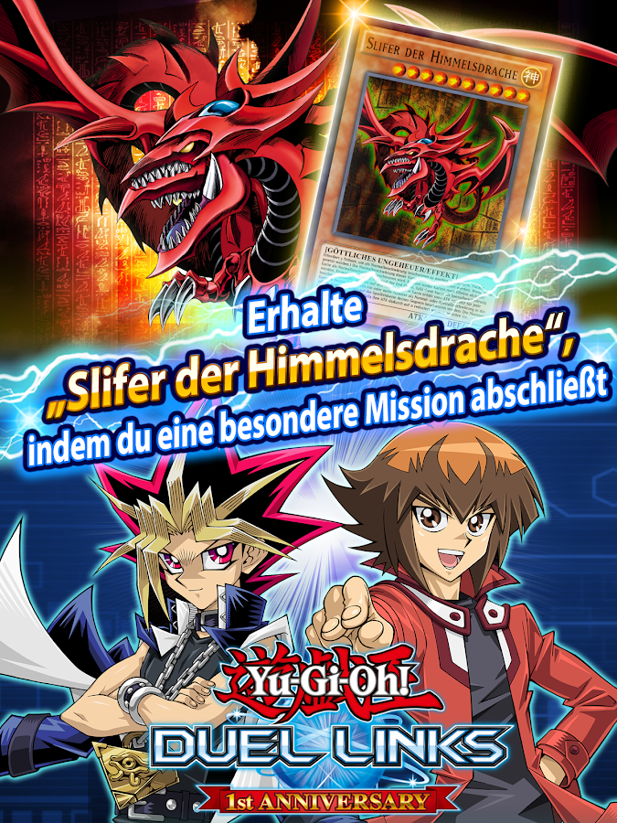 Yu-Gi-Oh! Duel Links – Screenshot