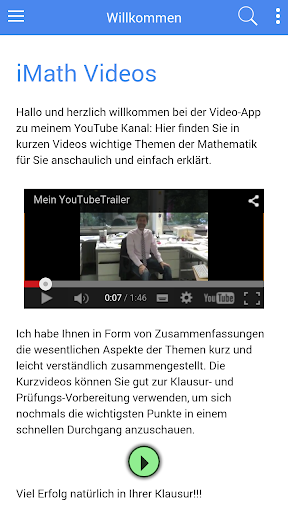 iMath-Videos zum Studium
